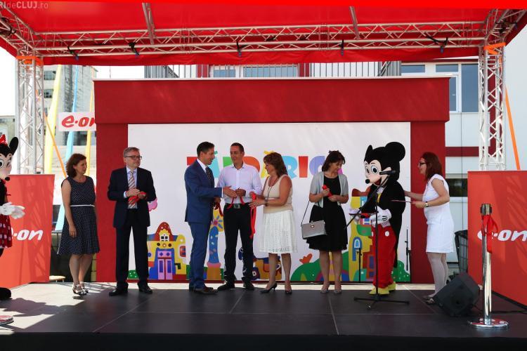 Grădiniţa Ţăndărică-E.ON a fost inaugurată la Cluj Napoca