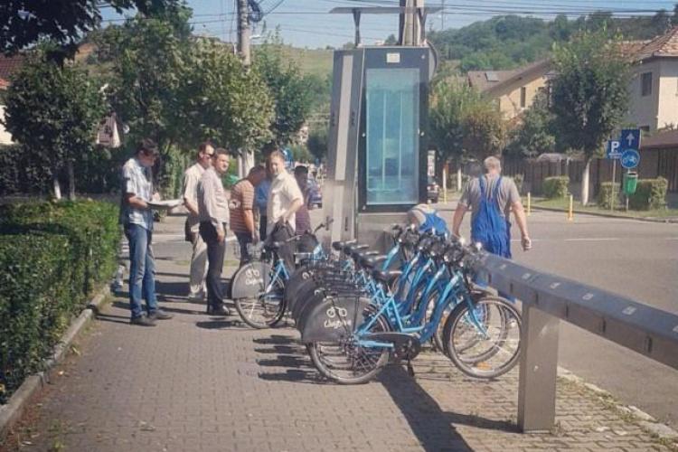 Au fost scoase de la naftalină primele bicicletele din proiectul de bike-sharing - FOTO