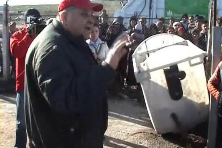 Consiliul Județean Cluj a depistat depozitări ILEGALE de 500.000 de mc de deşeuri la Pata Rât