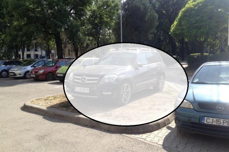 Smecher de Cluj: Sunt șofer de Mercedes - FOTO