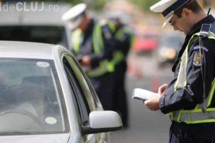 Sălăjean prins în trafic fără permis, la Cluj