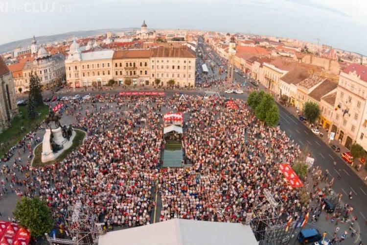 Zilele Culturale Maghiare 2015. Ce străzi se închid în centrul Clujului