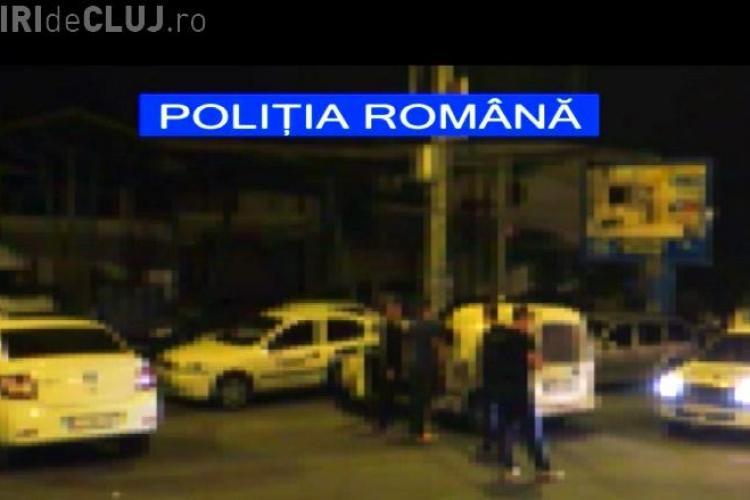 Spărgători de locuințe, prinși în flagrant la Cluj. S-au recuperat bunuri de peste 20.000 lei și o mașină de 10.000 euro VIDEO