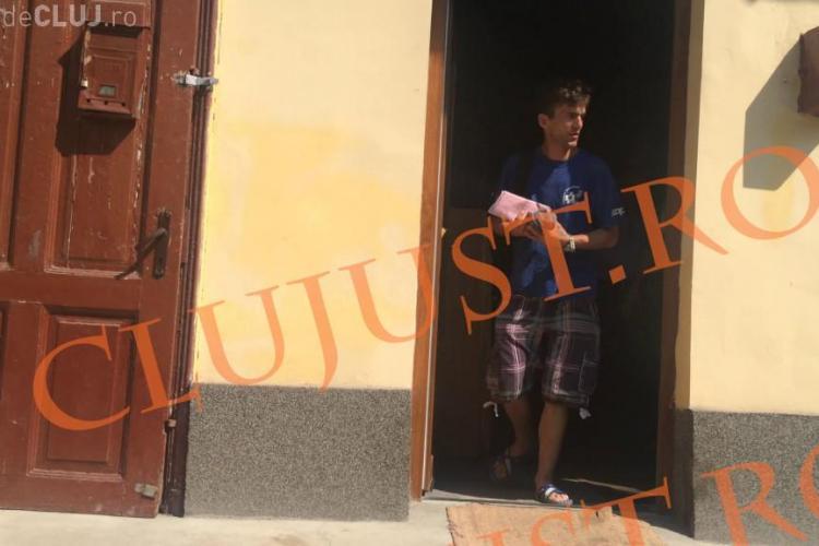 """DREPTATE! Poliția Cluj a evacuat un """"animal"""" care își bătea mama bătrână - VIDEO"""