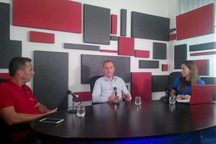Președintele Consiliului Județean Cluj, Mihai Seplecan, invitat la Știri de Cluj LIVE