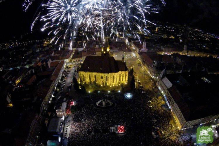 50.000 de oameni la Zilele Culturale Maghiare. Jumătate au fost turiști