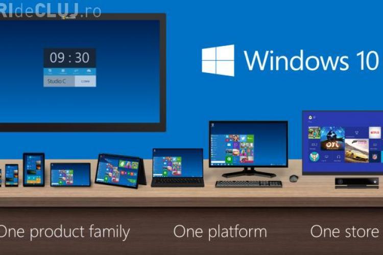 Windows 10 e deja instalat pe mai bine de 50 milioane de computere. Câți au instalat sistemul de operare în prima zi