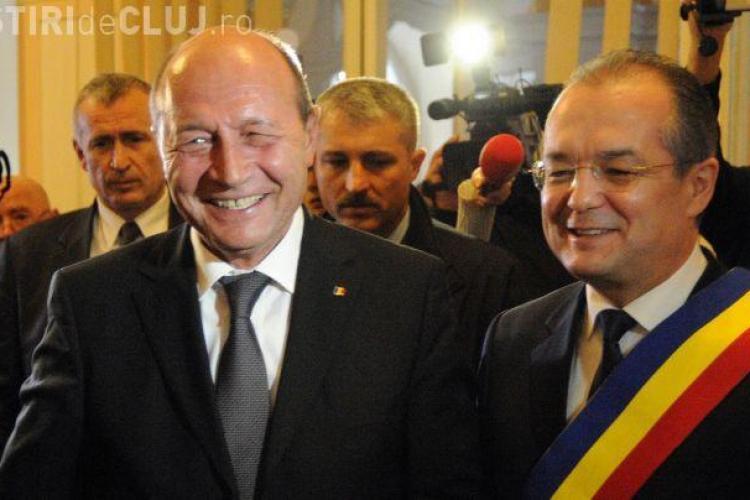 Băsescu vine în septembrie la Cluj să se înscrie în PMP. Emil Boc ar putea fi candidatul la Primărie