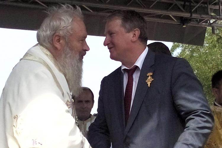 Remus Lăpușan, președintele PSD Cluj, a primit Crucea Transilvana - FOTO