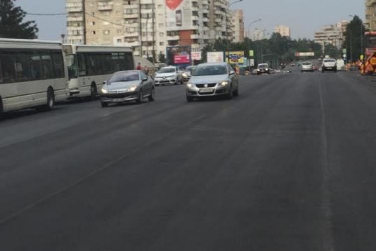 Se asfaltează și Calea Florești. Cât durează lucrările