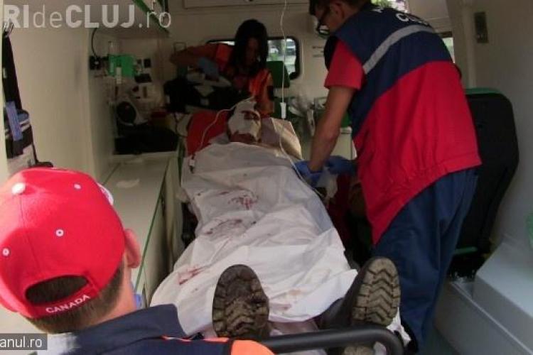 Un clujean a fost atacat de un urs, după ce a salvat un copil de 13 ani - VIDEO