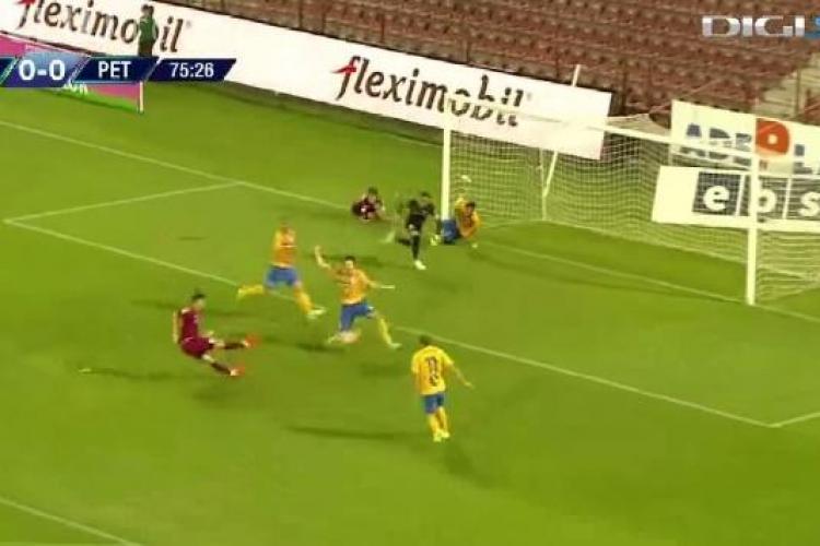 Victorie pentru CFR Cluj, în partida cu Petrolul. Lopez a marcat singurul gol al partidei REZUMAT VIDEO