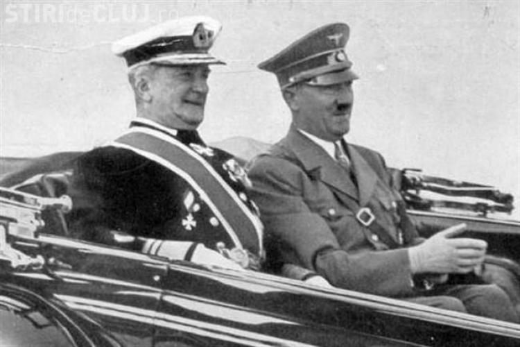 Fostul dictator maghiar Horthy Miklos, onorat cu o prelegere la Cluj, la Zilele Culturale Maghiare