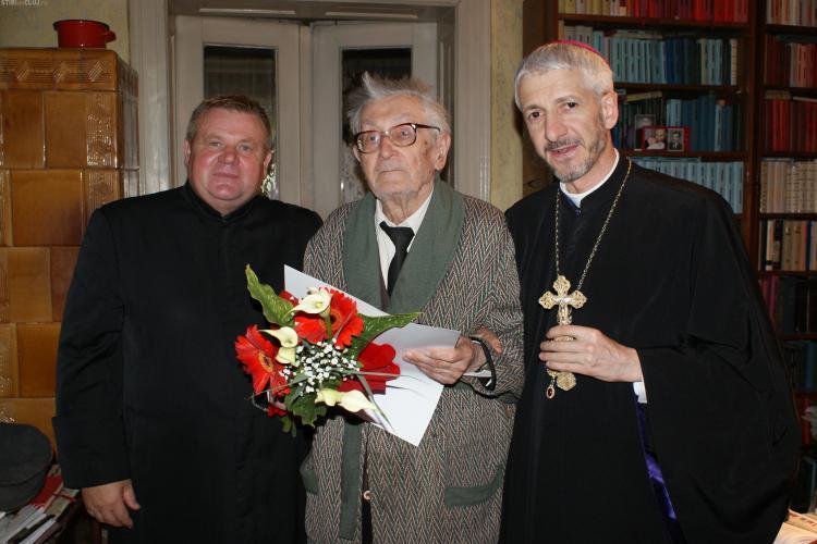 Mons. Alexandru Nicula, fost secretar al Cardinalului Iuliu Hossu, a murit la vârsta de 102 ani