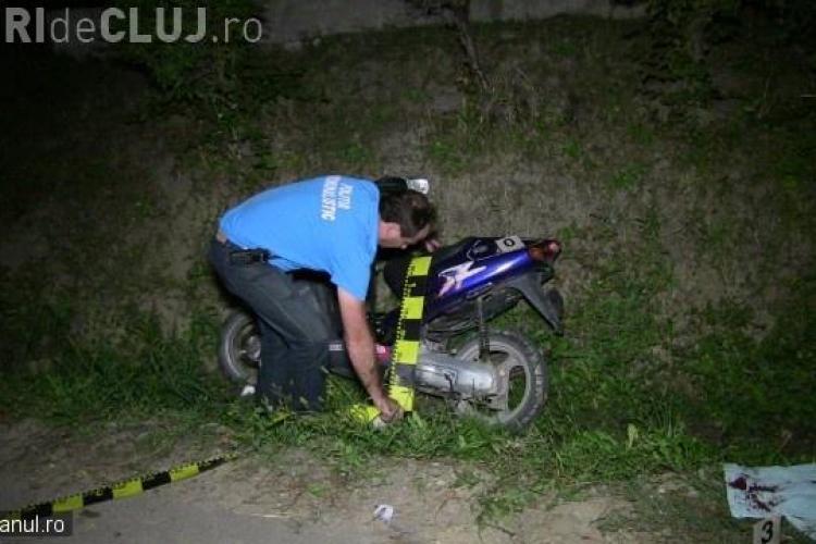 Un minor clujean a ajuns în stare gravă la spital, după ce a făcut accident cu scuterul. Tocmai ieșise dintr-un bar VIDEO