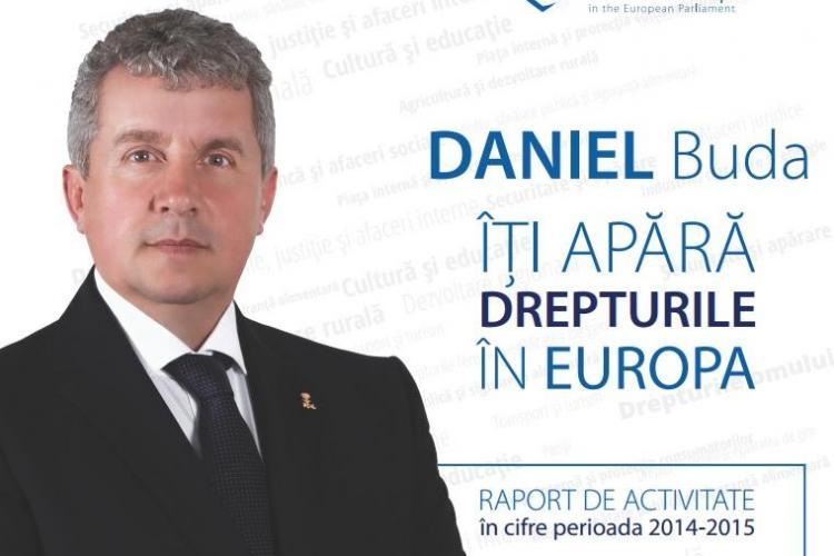 Daniel Buda și-a prezentat raportul de activitate din Parlamentul European, după un an de mandat