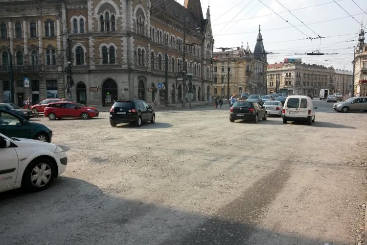 Asfaltări în acest weekend în două zone fierbinți din Cluj-Napoca