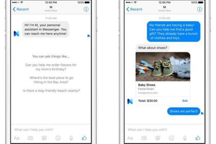Facebook vrea să le ia fața celor de la Apple și Google. A început testele pentru un asistent virtual