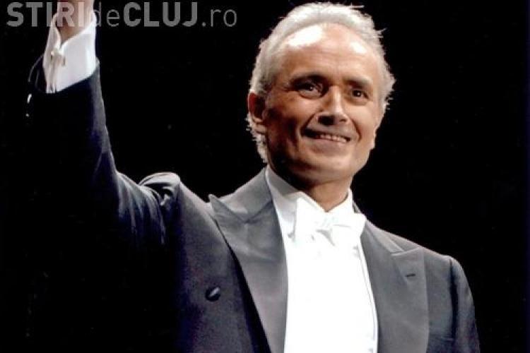 Jose Carreras va cânta la Cluj-Napoca, în această toamnă