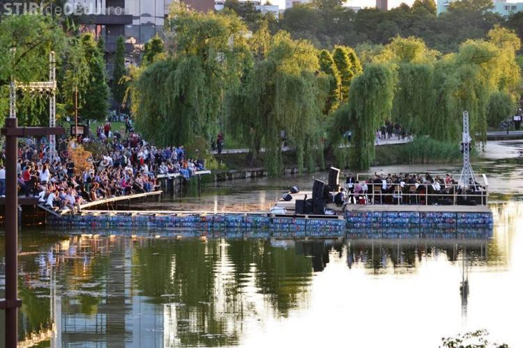 Eveniment special în Iulius Park, pe Scena Verde