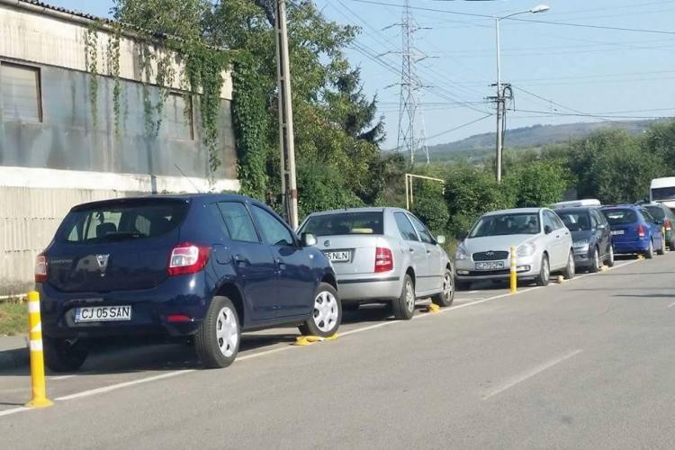 Cum sunt distruse pistele de biciclete la Cluj - FOTO