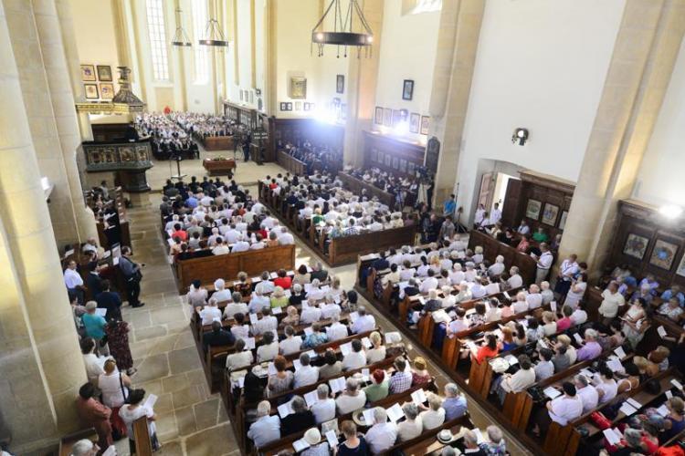 Biserica Reformata de pe strada Mihail Kogalniceanu a fost inaugurată. Lucrările au costat 4,5 milioane de euro - FOTO