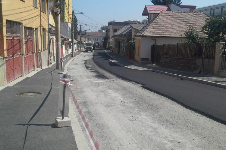Strada Marinescu e aproape de finalizare. Cum arată acum drumul - FOTO