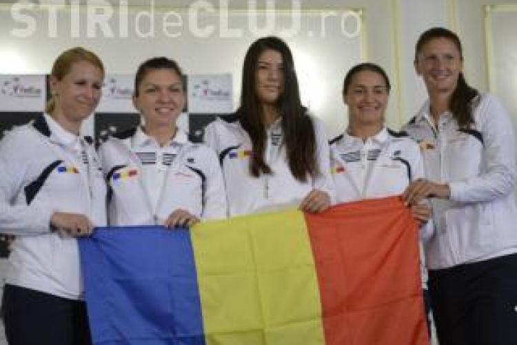 Simona Halep vine la Cluj în luna februarie 2016. Va juca la meciul Romania - Cehia