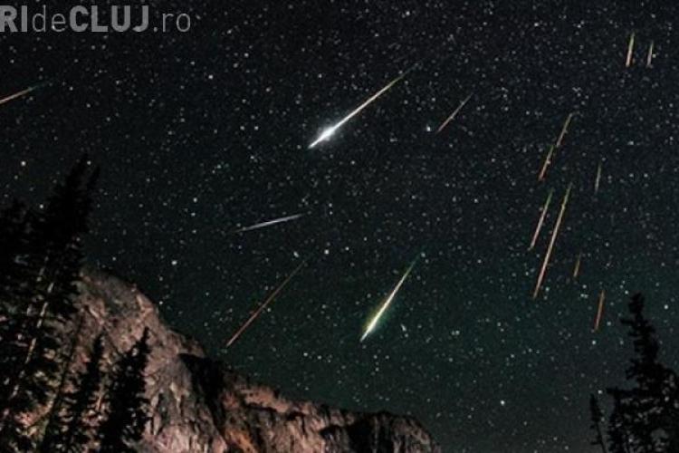 PERSEIDE 2015: Ploaia de meteoriți e vizibilă în această noapte și din România