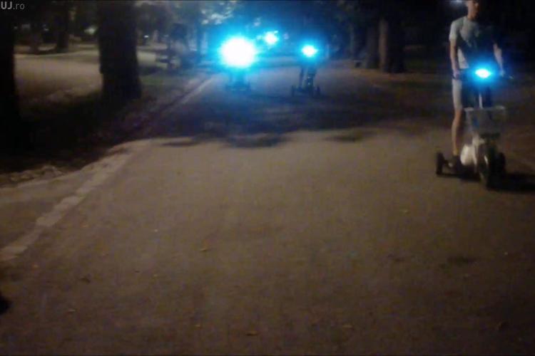 Drifturi în Parcul Central din Cluj. Ce solicita un clujean pe baza unor înregistrari VIDEO