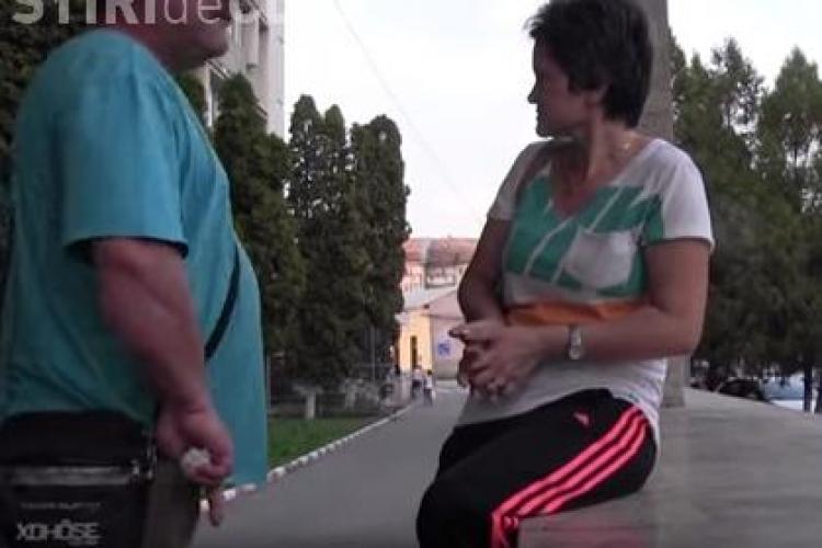 Șoferiță din Cluj, bătută și scuipată în trafic, după ce a evitat un accident. Atacatorul dă vina tot pe ea - VIDEO