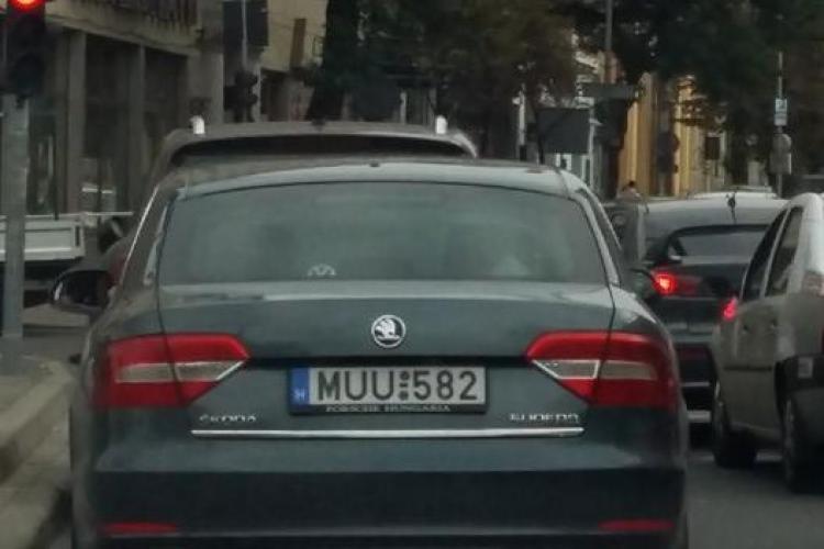 """O Skoda care face ca """"vaca"""" pe străzile Clujului"""