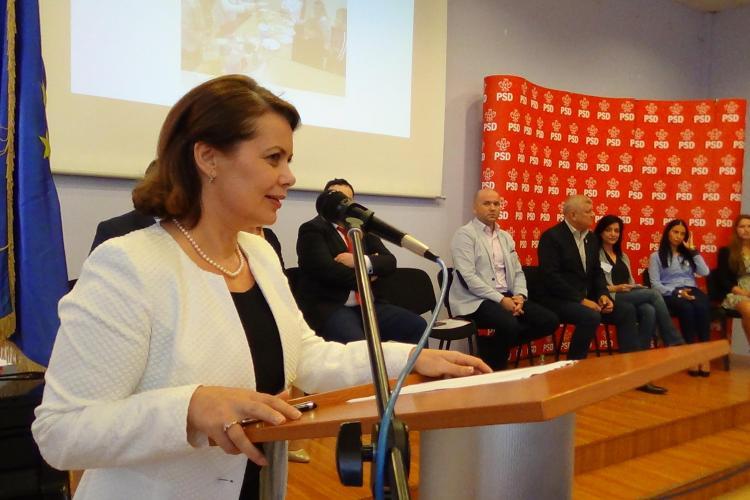 Alegeri la PSD Cluj-Napoca. Aurelia Cristea este singurul candidat pentru funcția de președinte - VIDEO