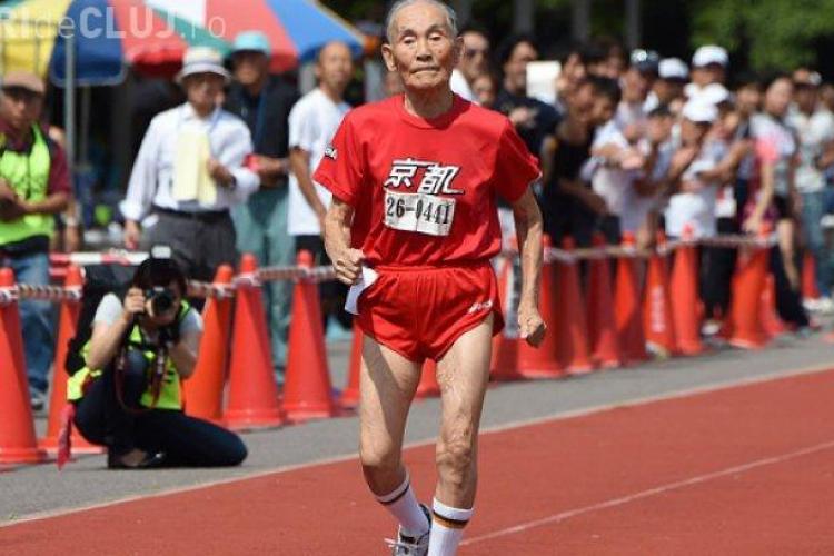 Un bărbat a depășit recordul de viteză la 105 ani. În cât timp a alergat 100 metri