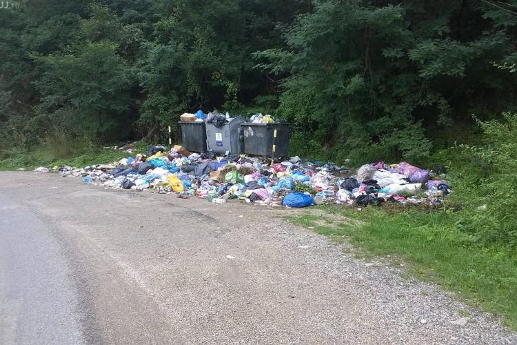 Județul Cluj e sub gunoaie! Deșeuri în zona de munte. Între timp, groapa de gunoi a Clujului e pe butuci