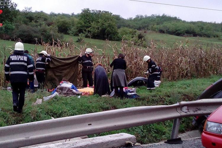 CARNAGIU pe un drum din Cluj! O fetita de 10 ani a murit – VIDEO