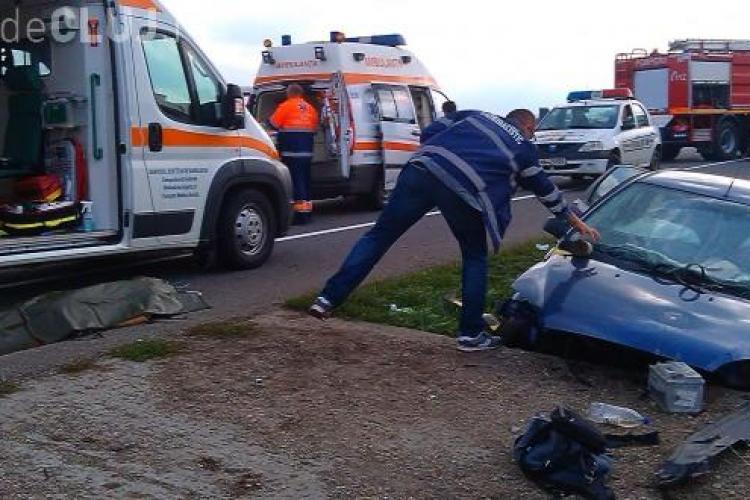 Accident mortal la Cluj! A murit un copil de 4 ani și o femeie. DETALII CUTREMURĂTOARE  - VIDEO