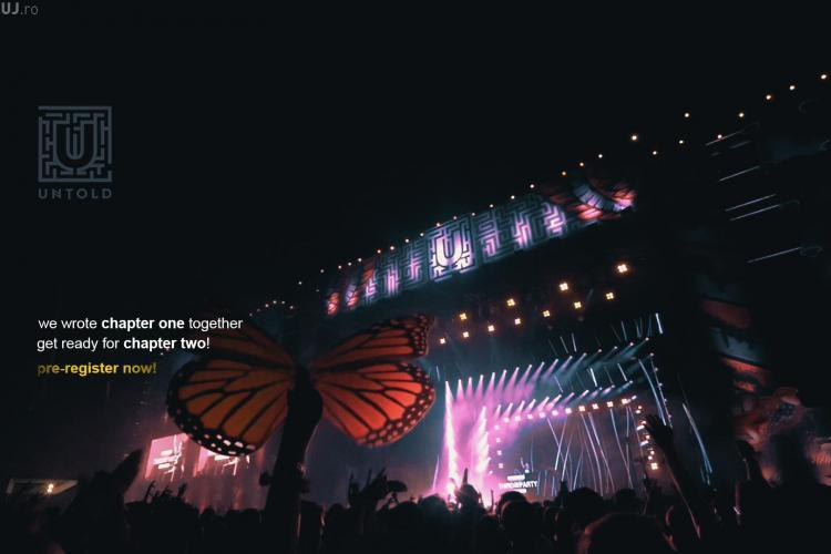 UNTOLD 2016: Încep pre-înregistrările pentru bilete