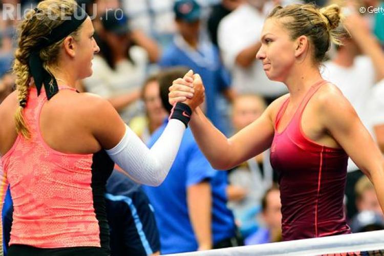 Simona Halep s-a calificat în semifinalele de la US Open, după o partidă maraton: Ploaia m-a salvat