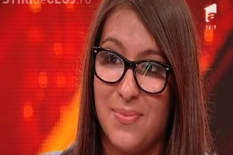 X FACTOR - Mara Ivascau, elevă de 14 ani din Cluj, a cântat fabulos Metallica și Christina Aguilera - VIDEO