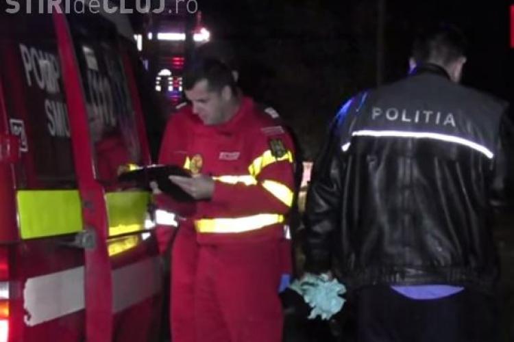 Un clujean cu probleme psihice a încercat să își incendieze casa. A stropit și polițiștii cu motorină VIDEO