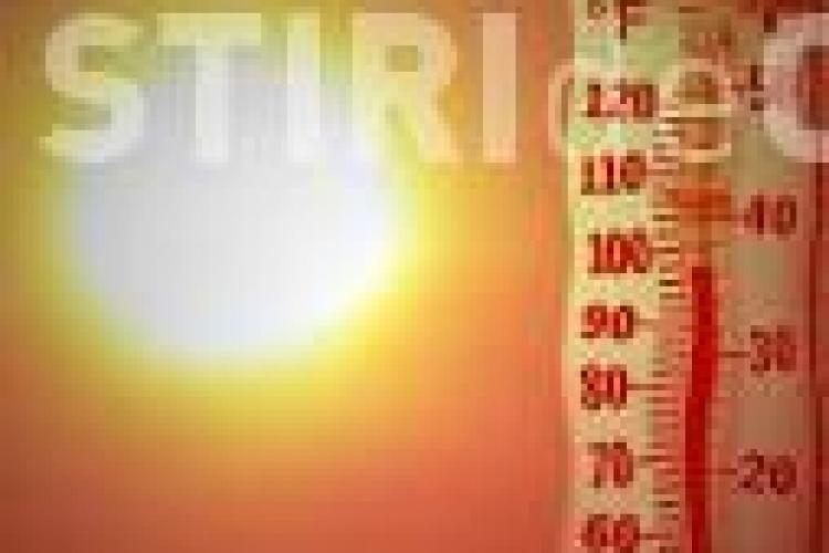 COD GALBEN de caniculă la jumătatea lunii septembrie. Cât de cald va fi la Cluj