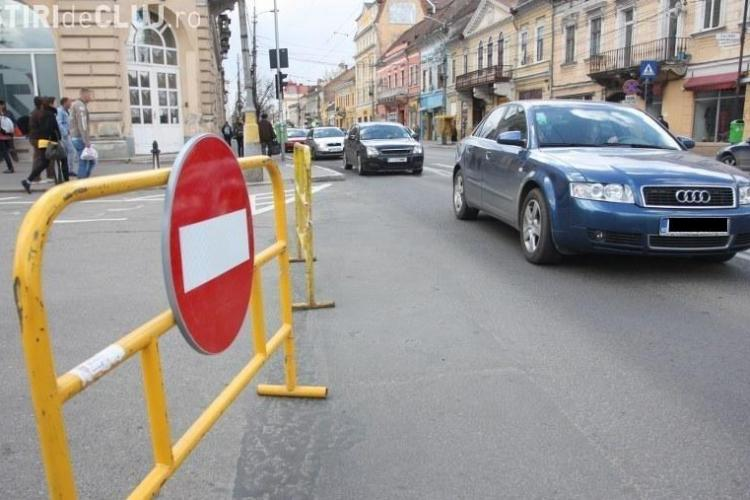 Cluj: Restricţii de circulaţie pentru duminică, 20 septembrie