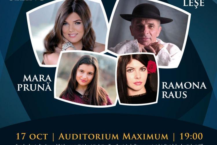 Spectacol caritabil pentru copiii cu autism, la Cluj. Paula Seling, Grigore Leșe și Ramona Raus vor urca pe scenă