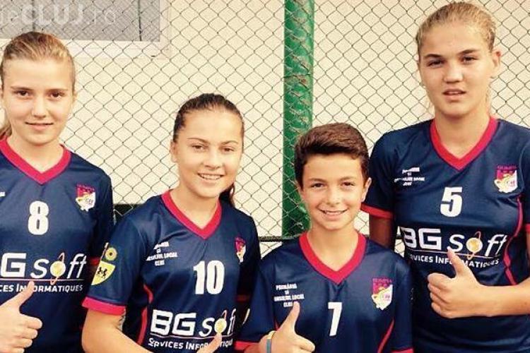 Olimpia Cluj a adus patru junioare de viitor la echipă
