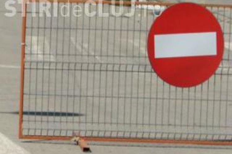Cluj: Restricţii de circulaţie pentru sâmbătă, 26 septembrie