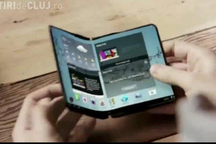 Cum va arăta telefonul pliabil de la Samsung