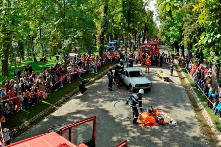 Ziua Pompierilor este sărbătorită duminică, la Cluj-Napoca