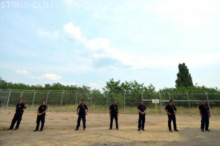 Ungaria construiește un gard lung  de 70 km la granița cu România