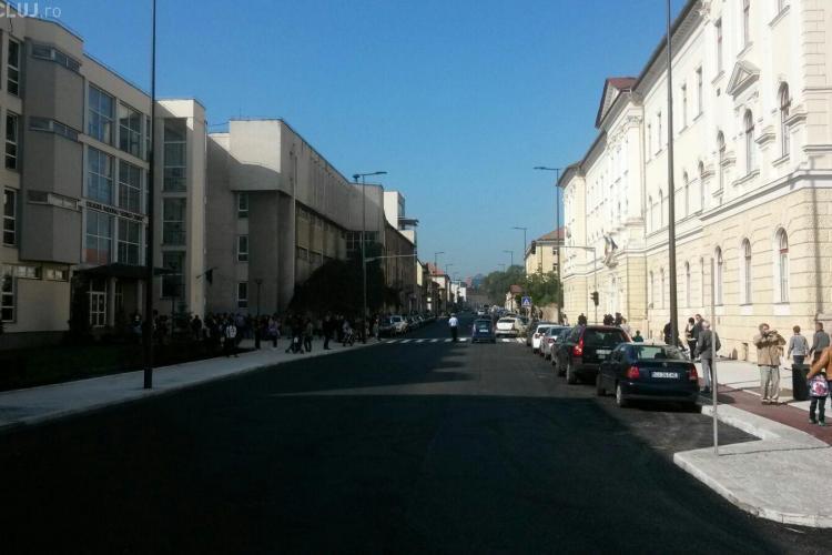Strada Avram Iancu a fost asfaltată în timp RECORD. Boc: E o victorie de etapă